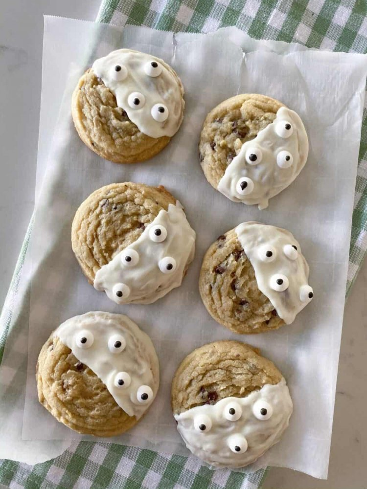 Halloween sušenky