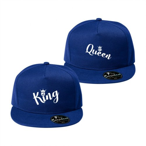 Snapbacky pro páry - King a Queen