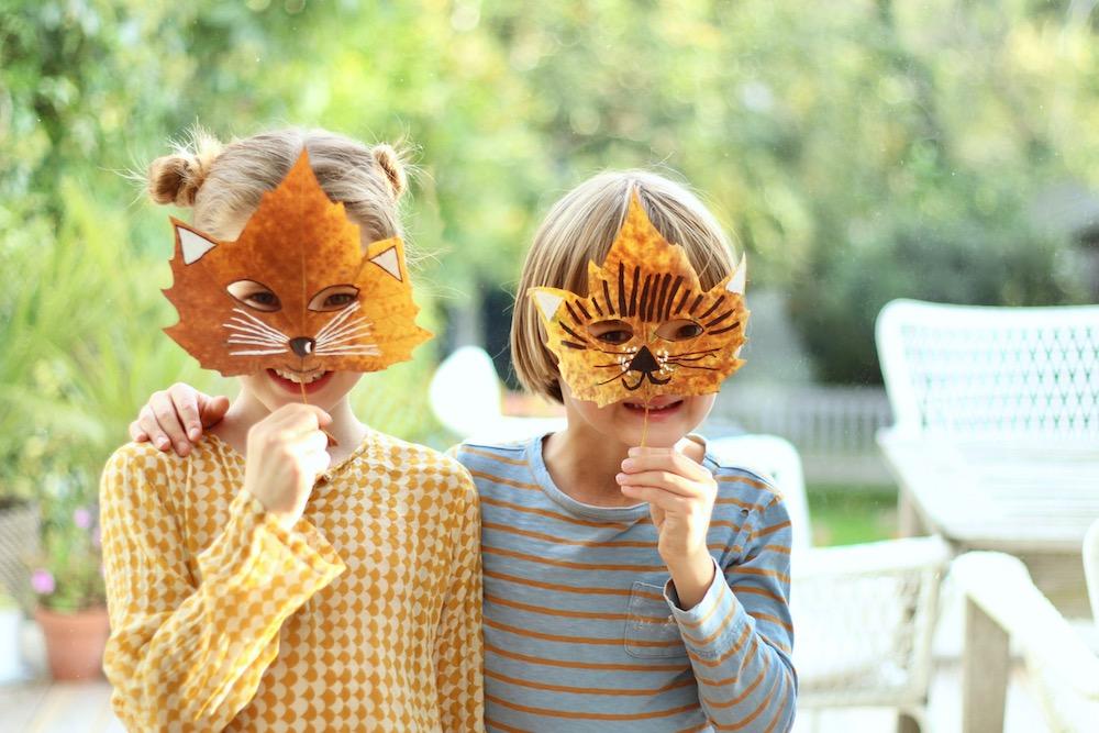 pro děti masky javor