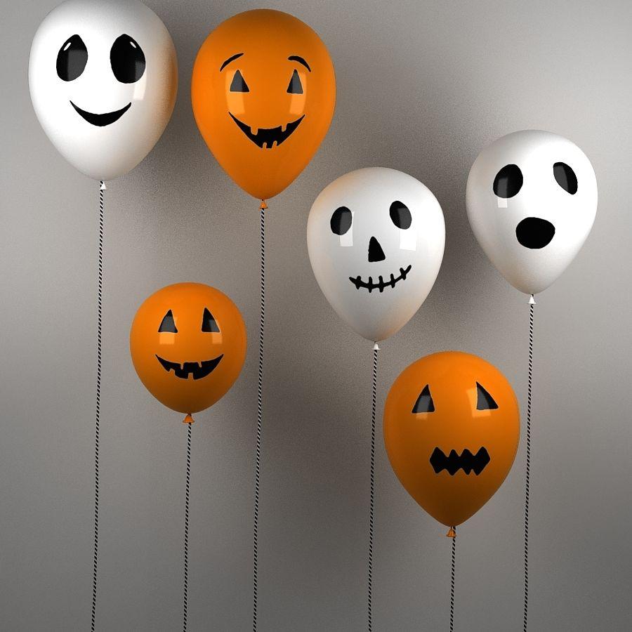Halloween balonky